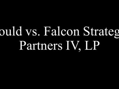Gould vs. Falcon Strategic Partners IV, LP (In re Integrity Directional Servs, LLC)